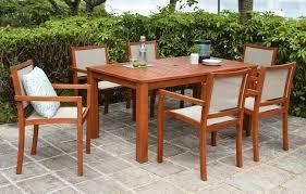 bahama wooden garden dining set 6 seater