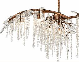 Branch Chandelier Chandelier With Crystal Leaves
