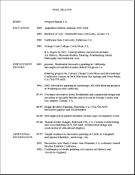 Gallery Of Resume Plain Text Example Text Resume Format Text