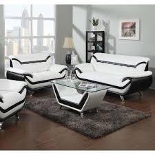 comfortable sofa sets. Perfect Sofa Esofastore Bonded Leather Dual Color 2pc Sofa Set Modern Stylish Comfortable  Loveseat White  Throughout Sets B