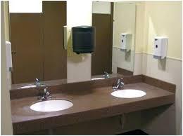 commercial bathroom countertops restroom countertop concrete
