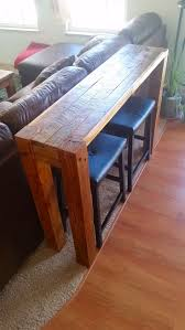 diy sofa table made from pallet wood pallet sofatable