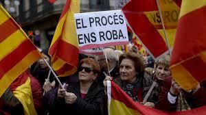 Unionistas protestan en Barcelona contra proceso independentista | HISPANTV