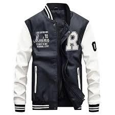 riverdale southside serpents jacket 2018 jacket men embroidery riverdale baseball college jackets leather coats slim fit denim jacket fur collar hockey
