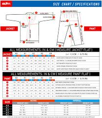 Judo Suit Size Chart Storm Kimono Size Chart Storm Kimonos