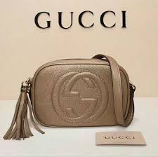 gg soho small leather disco bag women s fashion bags wallets on carou