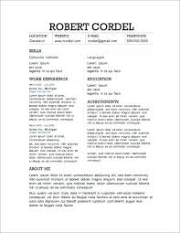 Word 2013 Resume Templates Extraordinary Resume Templates Word Best Free Microsoft 48 Download Re