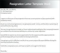 Two Week Resignation Letter Extraordinary Resignation Letter Template For Sample South Templates Letters Photo