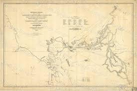 California Nautical Charts Map Of San Francisco Bay 1850 Vintage California Nautical