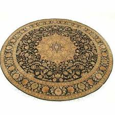 black udai exports round oriental rugs