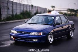 HENDRA'S DAILY STATIC TOYOTA COROLLA AE101 ON WORK MEISTER ...