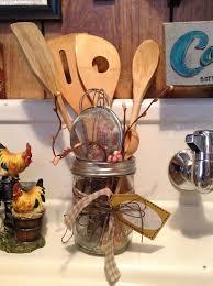 vintage kitchen utensil holder