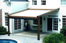 retractable outdoor shade sails patio deck cover idea decks and patios awnings s shad retractable porch