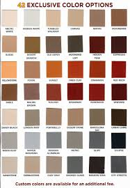 Our Brick Staining Color Chart Can Help You Decide How You