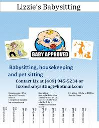 Babysitting Flyer Template What To Put On A Babysitting Flyer Cti Advertising