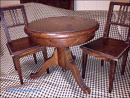 mission style dining table and chairs fresh antique sman sle mission style round oak dining table