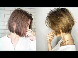 قصات شعر قصير مدرج و قصات شعر كاري مع سحب لون وصبغة كتير
