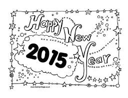 Small Picture New Years Eve Celebration Sign Board on 2015 New Year Coloring