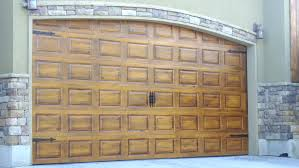 garage door artArt Faux Wood Garage Doors Image   Painting In Faux Wood Garage