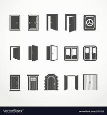 Door Vector Design Doors
