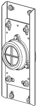 Mi 1163 Ba Rvs Gevelpassageaansluitkopmontmiddengatplfischerplug