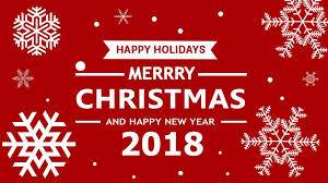 Image result for Happy Holidays and Happy New Years 2018 free clip art