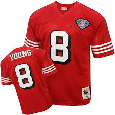 White 8 San Jersey 49ers Steve Francisco Women's Young