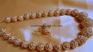 New Imitation Jewellery Designs Gold Plated Jaipuri Mala South India Jewels