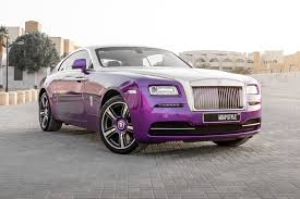 If you are looking to travel in style then look no further than our rolls royce rental services. Rolls Royce Wraith Purple Gloss Wrap Wrapstyle