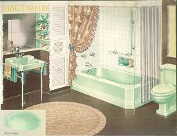 the color green in kitchen and bathroom sinks tubs and toilets