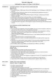 System Administrator Resume Examples Vmware System Administrator Resume Samples Velvet Jobs 21