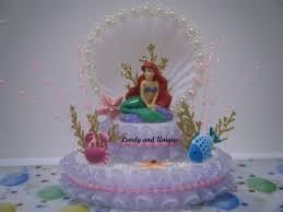Ariel Cake Decorations Similiar Little Mermaid Cake Topper Ideas Keywords
