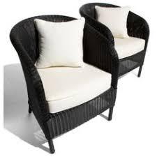 black wicker chairs black patio chair cushions
