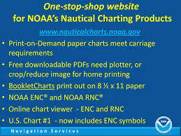Noaas Nautical Charting Products And Services Ppt Download