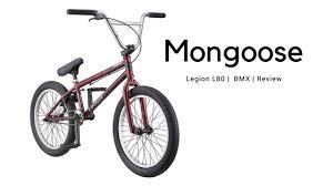 Mongoose Bmx Size Chart Mongoose Freestyle Bmx Bikes Review Legion L80 Top