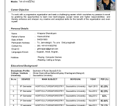 Free Resume Formats Download Best Of Latest Format Of Resume Download For Cv Freshers Experienced