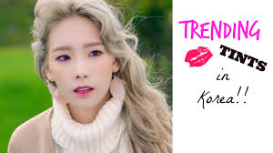 i am back with a korean s beauty report on the cur february 2016 trending lip tints in korea now lip tints in korea are a huge must have item from high