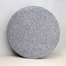 large round granite table top