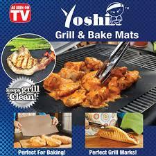 Yoshi Grill and Bake Mats As Seen TV