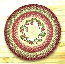braided rug r treads round cranberries jute by capitol earth rugs wool how to install stair