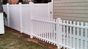 Vinyl Fence Vinyl Picket Fence in Sea Isle City NJ 08243 Wellman