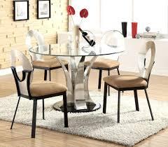 glass top dinette sets dinette sets glass top pedestal dining tables extraordinary modern round dining table glass top dinette sets