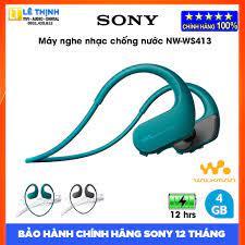 Máy nghe nhạc Sony Walkman NW-WS413 [4GB] (Xanh Dương) | Hãng phân phối |  Bảo hành chính hãng 12 tháng toàn quốc