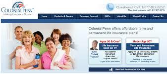 colonial penn life insurance reviews