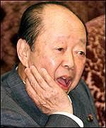 Finance Minister Kiichi Miyazawa warned of a financial collapse - _1213209_kiichi_miyazawa150