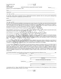 surety bond form texas mvd surety bond sample form docshare tips