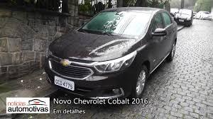 Chevrolet Cobalt 2017 - Detalhes - NoticiasAutomotivas.com.br ...