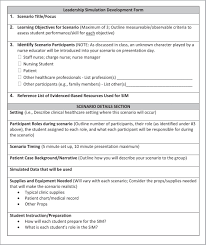 blending simulation based learning and interpretative pedagogy for leadership simulation development planning sheet sim simulation