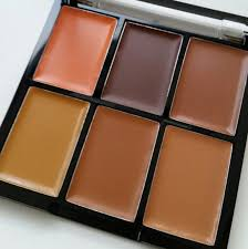 freedom makeup london pro conceal and correct palette dark