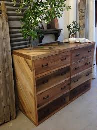 diy wooden pallet dresser